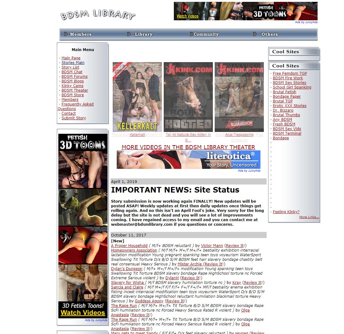 BDSM Library
